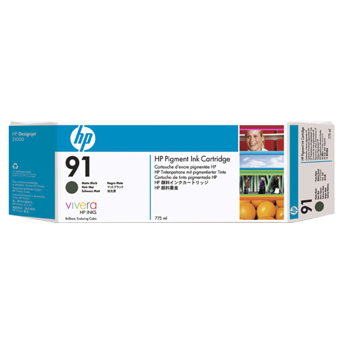 HP 91 Black Ink (C9464A)