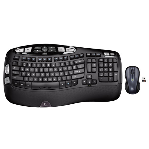 Logitech Wave Wireless Laser Keyboard & Mouse Combo (MK550) - French