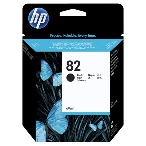 HP 82 Black Ink (CH565A)
