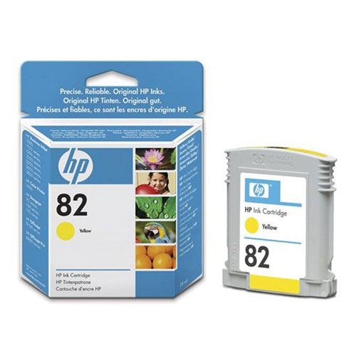 HP 82 Yellow Ink (CH568A)