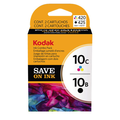 Kodak 10 Black/Tri-Colour Ink (8367849) - 2 Pack