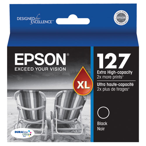 Epson T127 Black XL Ink (T127120-S)