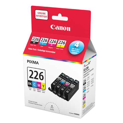 Canon Pixma CLI-226 CMYK Ink - 4 Pack