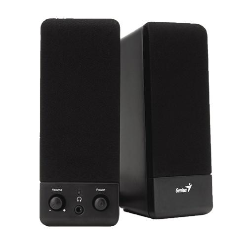 Système de haut-parleurs à 2.0 canaux de Genius pour ordinateur (SP-S110)