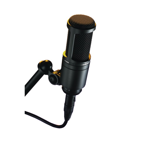 Microphone à condensateur cardioïde d'Audio-Technica (AT2020)