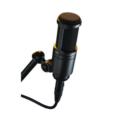Audio-Technica Cardioid Condenser Microphone (AT2020)