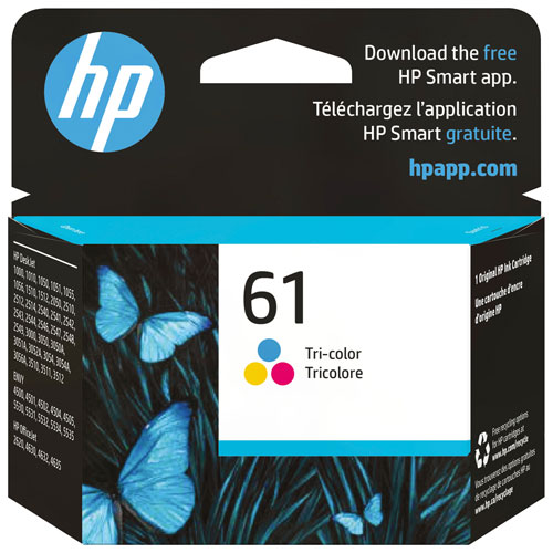 HP 61 Tri-Colour Ink (CH562WN#140)