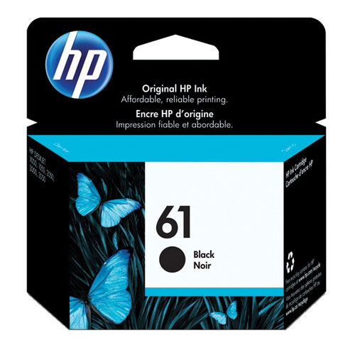 HP 61 Black Ink (CH561WN#140)