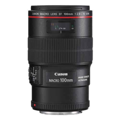 Canon EF 100mm f/2.8 IS USM Macro Lens