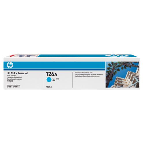 HP LaserJet 126A Cyan Toner (CE311A)