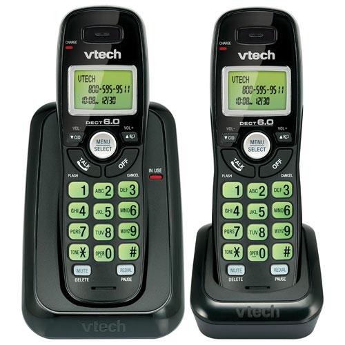 vtech 2 handset dect 6 0 cordless phone cs6114 21 black rh bestbuy ca VTech Cordless Phone DECT 6 0 User Manual VTech Cordless Phone DECT 6 0 User Manual