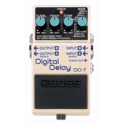 BOSS Digital Delay Pedal (DD-7)