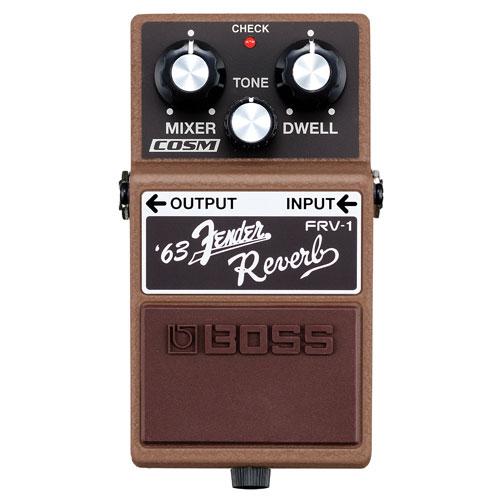 Pédale Fender Reverb de BOSS (FRV-1)