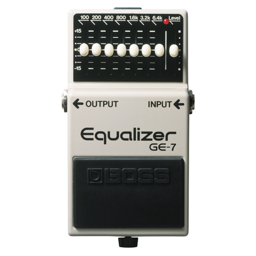 BOSS Graphic Equalizer (GE-7)