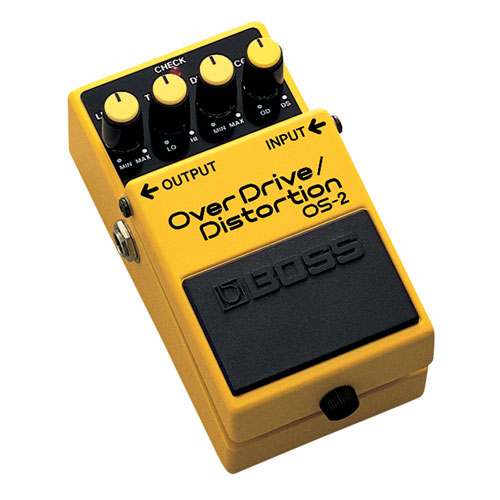 BOSS Overdrive/Distortion Pedal (OS-2)