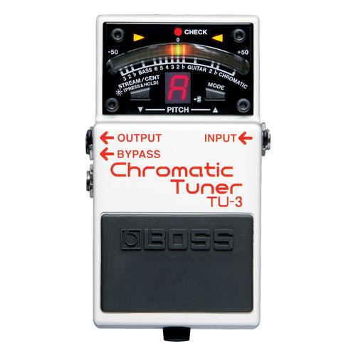 Accordeur chromatique de BOSS (TU-3)