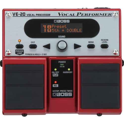 BOSS Vocal Processor (VE-20)