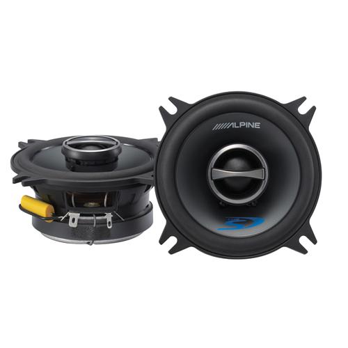 Haut-parleur coaxial de 4 po Type-S d'Alpine pour l'auto (SPS-410)