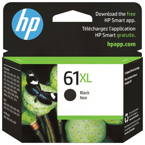 Cartouche d'encre noire 61XL de HP (CH563WN#140)