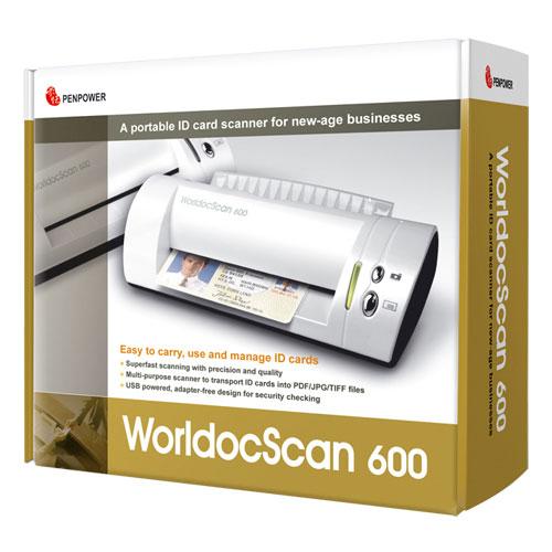 Penpower Card Scanner (WDS6001EN)