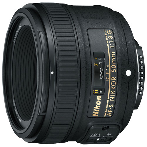 Nikon AF-S 50MM F/1.8G Prime Lens