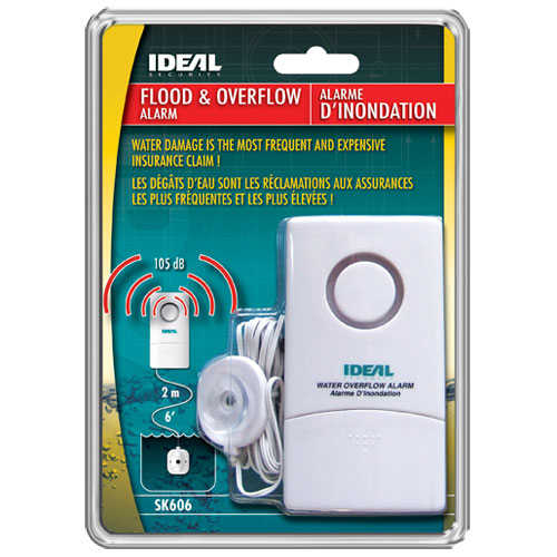 Alarme d'inondation d'Ideal Security (SK606)