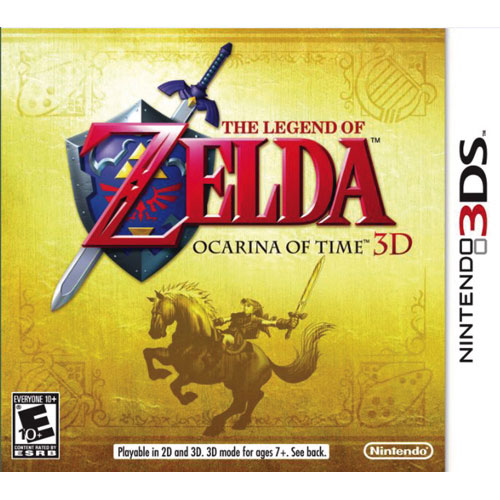 The Legend of Zelda: Ocarina of Time 3D (3DS) - Previously Played
