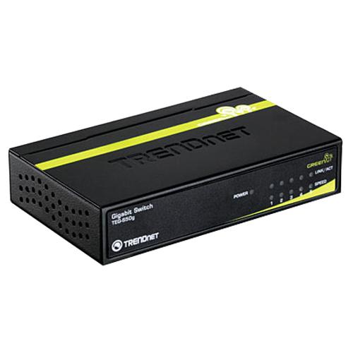 TRENDnet GREENnet 5-Port Ethernet Switch (TEG-S50G)