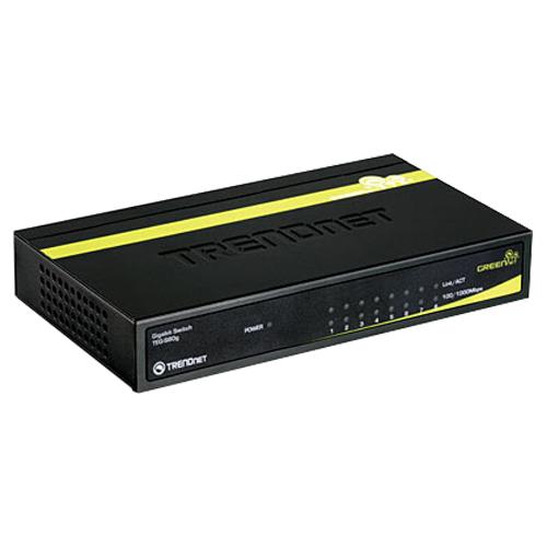 TRENDnet GREENnet 8-Port Ethernet Switch (TEG-S80G)