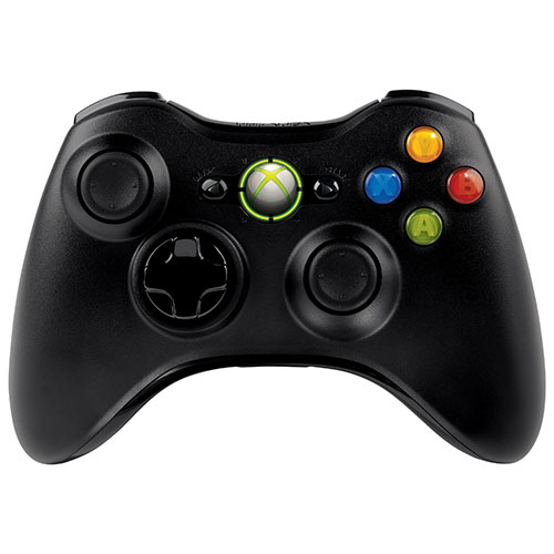 Manette XBOX 360 sans fil de Microsoft pour Windows (JR9-00011) - Noir