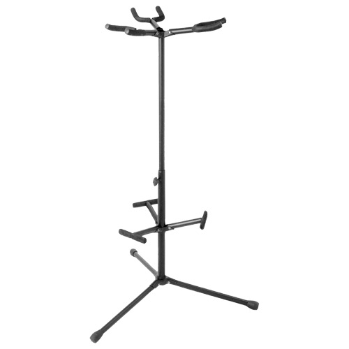 On-stage Hang-it Triple Guitar Stand (GS7355) - Black
