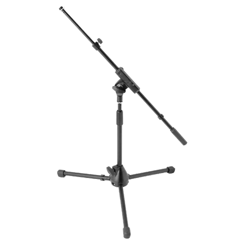 On-Stage Tele-Boom Drum / Amp Microphone Stand (MS7411TB) - Black