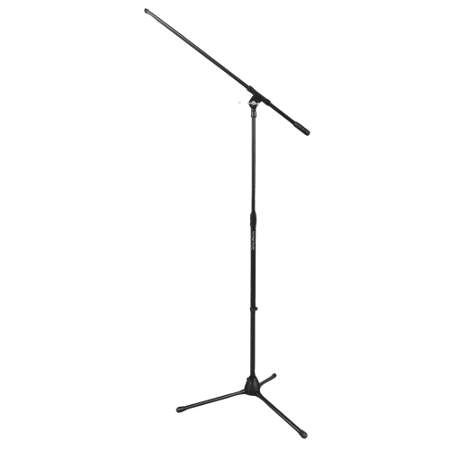 On-Stage Fixed Boom Drum/Amp Mic Stand (MS7701B) - Black