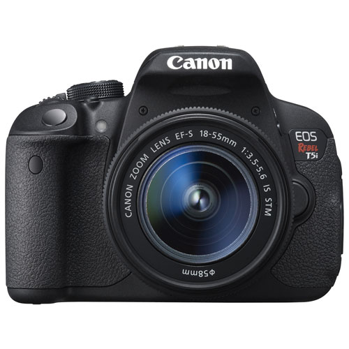 559e1565a622 Canon EOS Rebel T5i DSLR Camera with 18-55mm IS STM Lens Kit   DSLR Kits -  Best Buy Canada