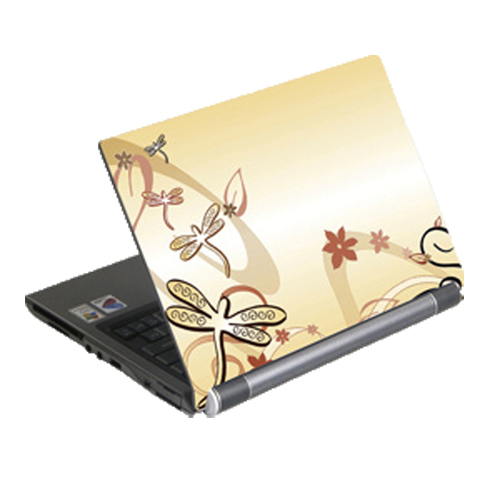 "G-Cube 17"" Laptop Skin (GSE-17N) - Yellow"