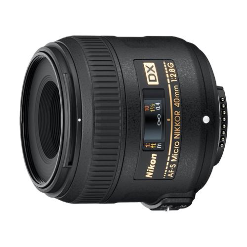 Objectif AF-S 40 mm f/2,8G DX MICRO-NIKKOR de Nikon