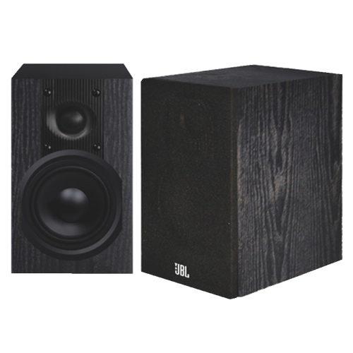 JBL Loft 30 100-Watt Bookshelf Speakers - Black - Pair