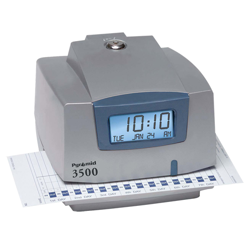 Pyramid Technologies 3500 Time Clock