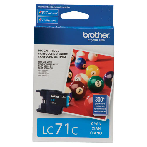 Brother Cyan Ink (LC71CS)