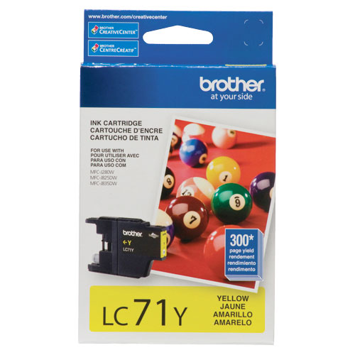 Brother Yellow Ink (LC71YS)