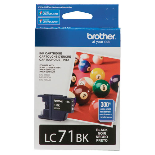 Brother Black Ink (LC-71BK)