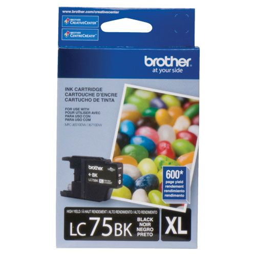 Brother Black XL Ink (LC75BKS)