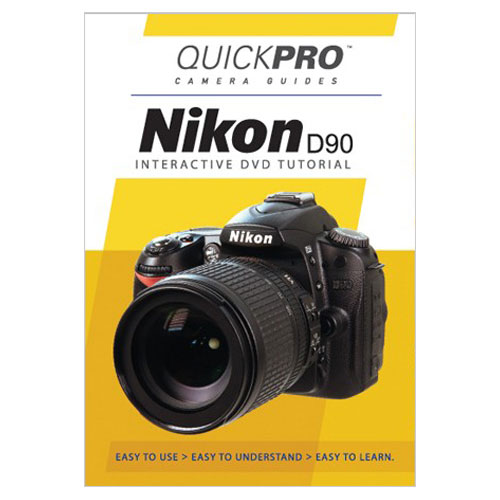 QuickPro Camera Guide DVD for Nikon D90 (QGD90)