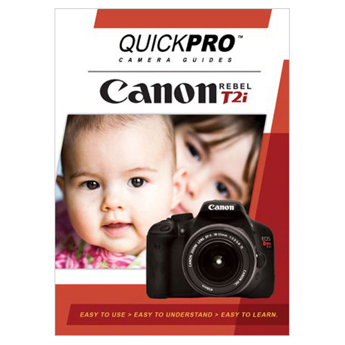 QuickPro Camera Guide DVD for Canon T2i (QGT2i)