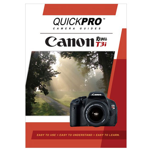 QuickPro Camera Guide DVD for Canon T3i (QG1543)