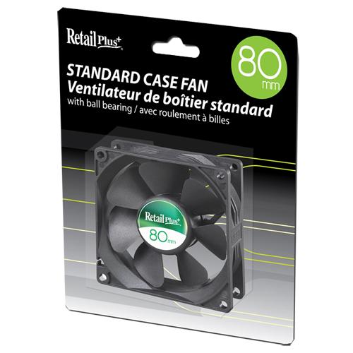 Retail Plus 80mm PC Case Cooling Fan