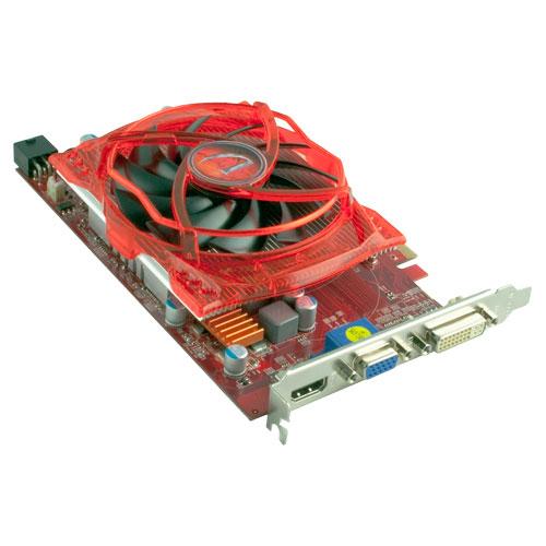 Carte vidéo PCI-E Radeon HD 4350 d'ATI offerte par VisionTek avec mémoire DDR2 de 512 Mo