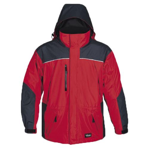 Viking Tempest Jacket - Medium - Charcoal / Red