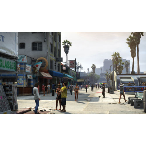 gta v ps3 used public