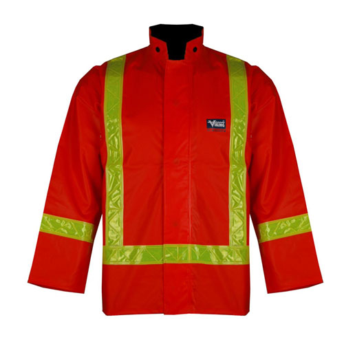 Manteau en PVC robuste Journeyman (M) de Viking (6210J-M) - Orange